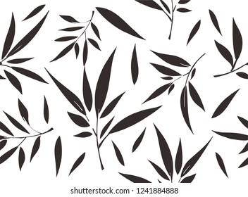 Bamboo leaves, the composition of bamboo leaves with various variations, is suitable for various purposes