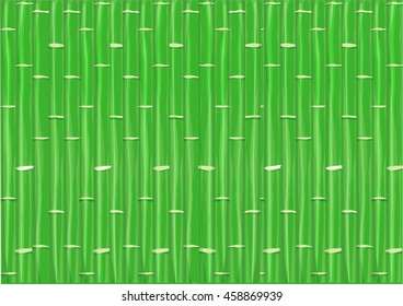 Bamboo Stem background concept. Editable Clip Art.