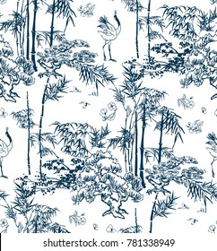 bamboo vector japanese pattern nature pine
