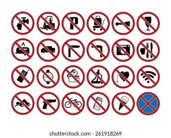 ban signs