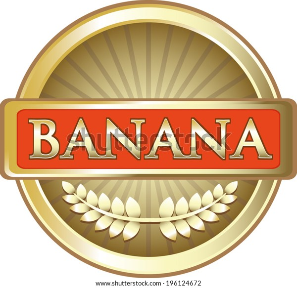 Banana Fruit Gold Label