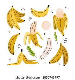 Banana Clipart Images Stock Photos Vectors Shutterstock Fruits clipart images black and white. https www shutterstock com image vector banana slice peeled peel clipart set 1850748997