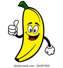 Banana with Thumbs Up
