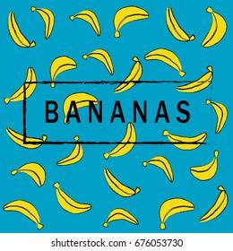 Bananas wallpaper.