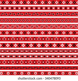 Bandana Border Patterns