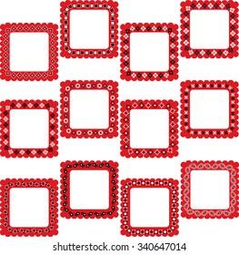 bandana square frames