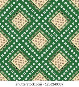Bandanas Green Bandana Pattern