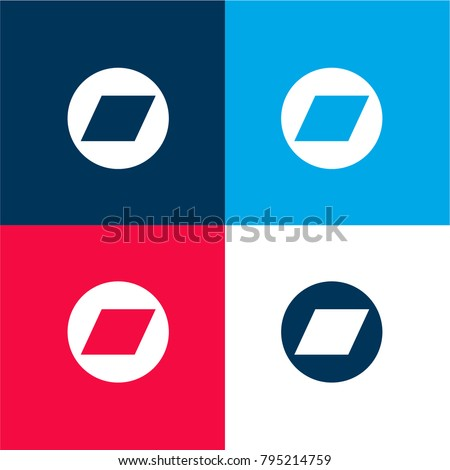 bandcamp logo four color material minimal stock vector royalty free