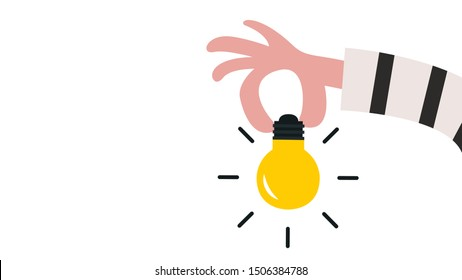 Bandit hand vector. lamp idea vector. lamp. wallpaper. background.  Plagiarize.