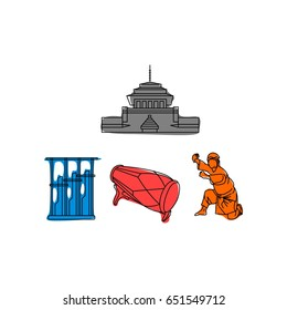Gedung Sate Stock Illustrations Images Vectors Shutterstock