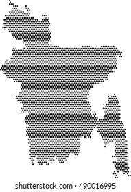 bangladesh dots map