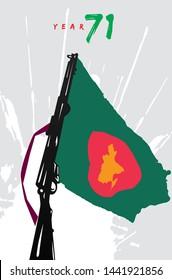 Bangladesh liberation war / Bangladesh muktijuddho / Bangladesh flag