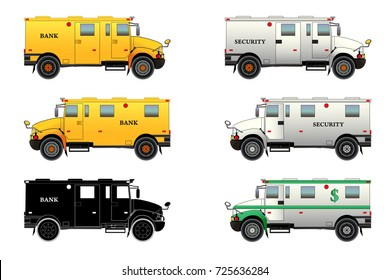 Bank Bloq Van Design On Stock.Armored Truck Images Stock Photos Vectors Shutterstock