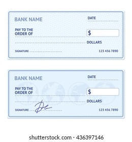blank check images stock photos vectors shutterstock