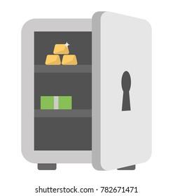 Bank Vault Vector Icon
