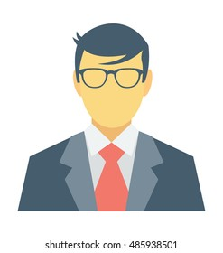 Banker Vector Icon