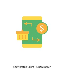 Banking, application icon. Element of Web Money and Banking icon for mobile concept and web apps. Detailed Banking, application icon can be used for web and mobile