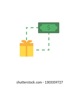 Banking, gift box icon. Element of Web Money and Banking icon for mobile concept and web apps. Detailed Banking, gift box icon can be used for web and mobile
