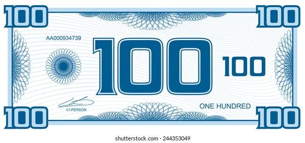 banknote hundred