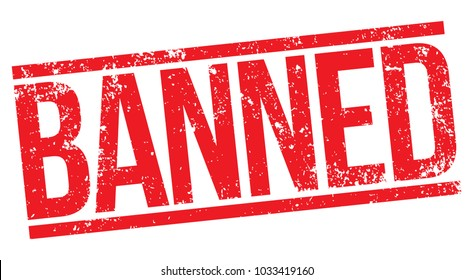 Banned Red Stamp