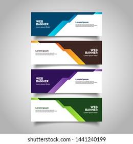 Banner background business template.modern design