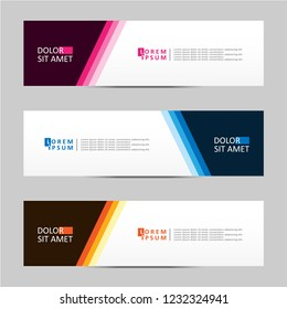 Banner background. Modern template vector design. Vector illustration eps 10