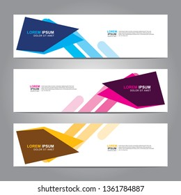 Banner background.business template.modern design