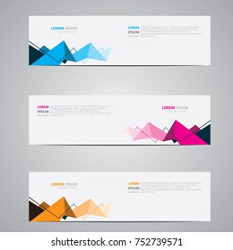 Banner background.Modern design template