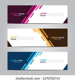 Banner background.Modern vector design.