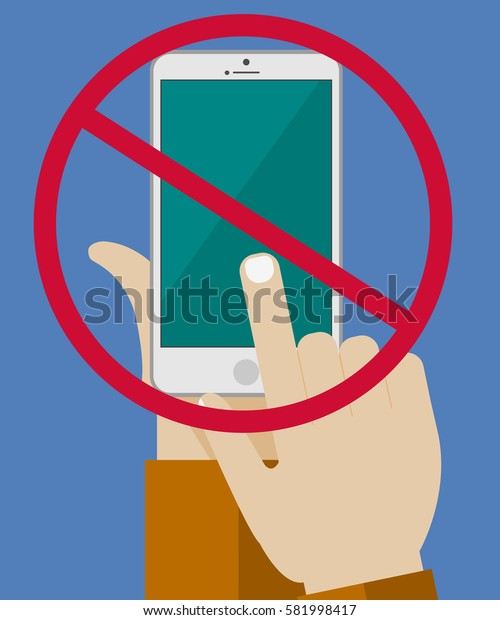 banner a ban on the smartphone