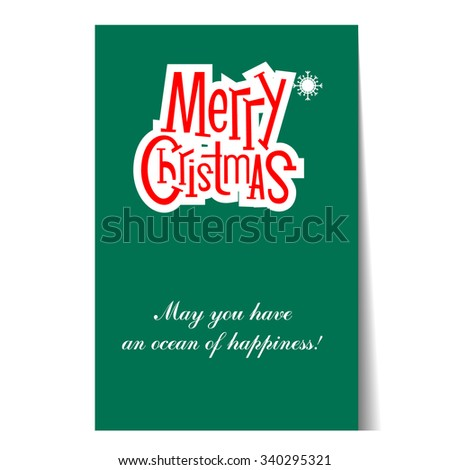 banner christmas card templates posters vector illustration - Christmas Photo Card Templates