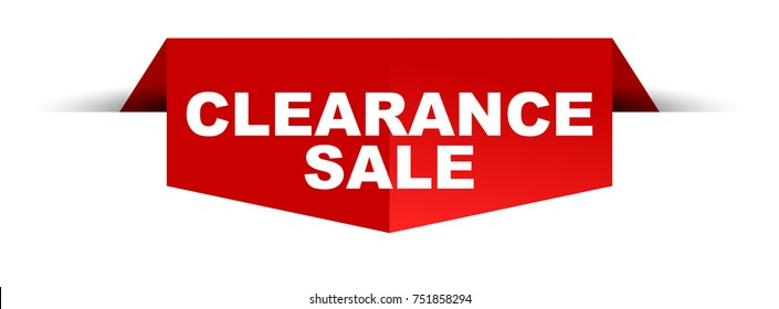 banner clearance sale