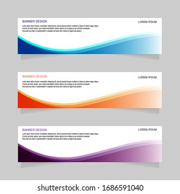 Banner design abstract template background