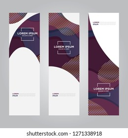 banner design. Creative backgrounds. Trendy design. Eps10 vector