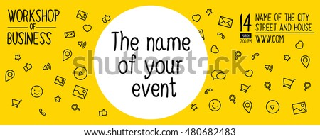 banner design event workshop banner design stock vector royalty