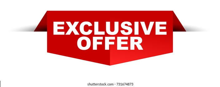 banner exclusive offer