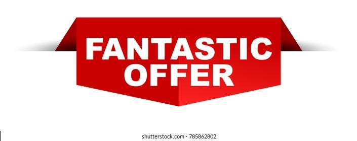 banner fantastic offer