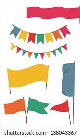 banner, flag