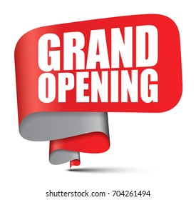 banner grand opening