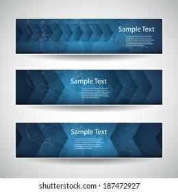 Banner or Header Design - Arrows