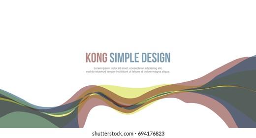 Banner header website abstract modern design
