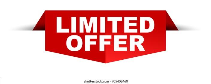 banner limited offer