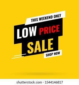 Banner Mega sale, Special Offer - Modern design - illustration