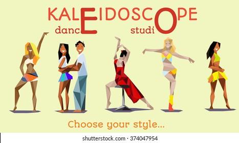 Banner, poster for dance studio