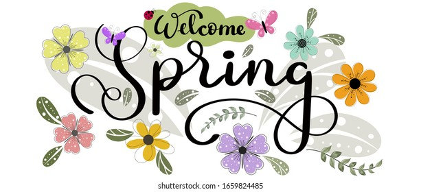 welcome spring high res stock images | shutterstock  shutterstock