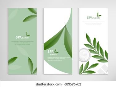 Banner template corporate company design, Set for business hotel, resort, spa, luxury premium, vector design.
