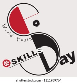 Banner for the World Youth Skills Day