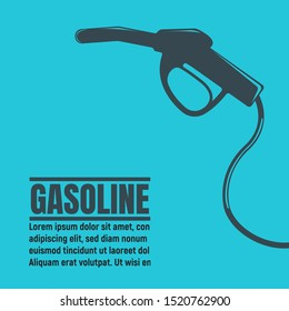 Banners of Oil Business. Oil Development and Extraction Flyer. Gasoline, Petrol Station, Research. World Petrol Production Background. Oil Biz Symbol, Icon and Badge. Simple Vector illustration.