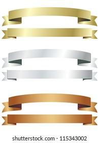 Banners Ribbon set