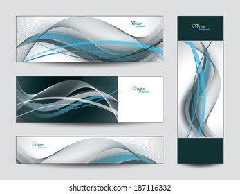 Banners. Set of Vector Backgrounds.